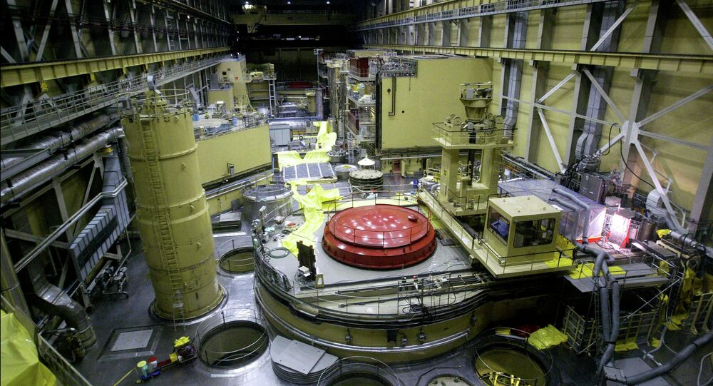 A general view of the reactor block No.2 in the nuclear power station of Paks at about 120kms south from Hungarian capital Budapest on Thursday 29 May 2003