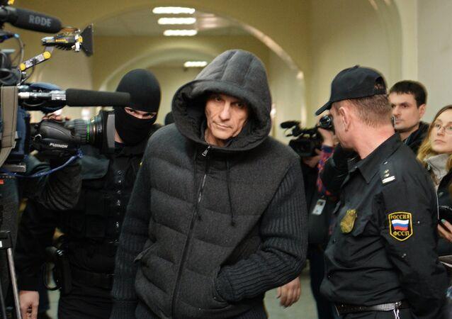 Sakhalin Region Governor Alexander Khoroshavin in Basmanny Court