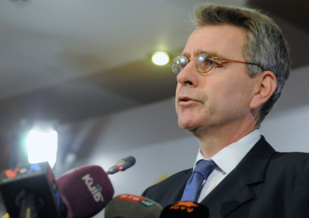 Briefing by U.S. Ambassador Geoffrey Pyatt