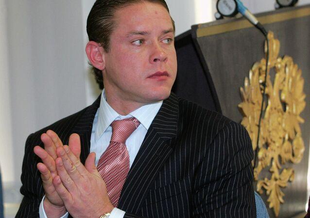 Former NHL star Pavel Bure