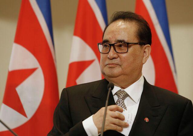 North Korean Foreign Minister Ri Su Yong