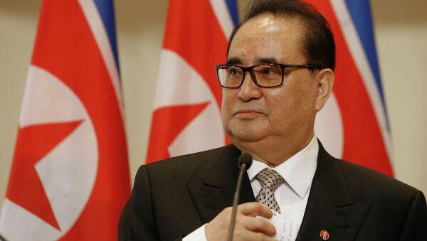 North Korean Foreign Minister Ri Su Yong - Sputnik International