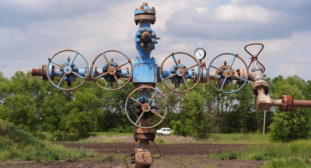 Yuzovka shale gas area outside Yaremivka, Kharkiv Region