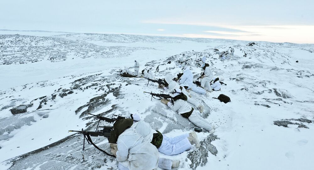 Threats to Russia's military security in the Arctic is related to the possibility of other states making territorial claims to the country's shelf.