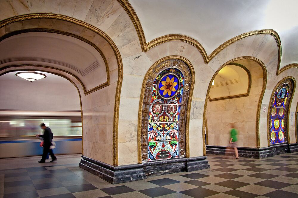The Moscow Metro's Circle Line: Underground Monument to Soviet Architecture