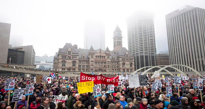 Canadians sound off on proposed anti-terrorism bill