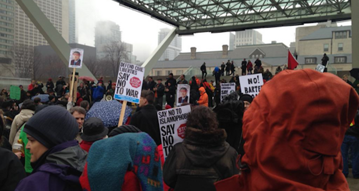 StopC51 protests in Toronto