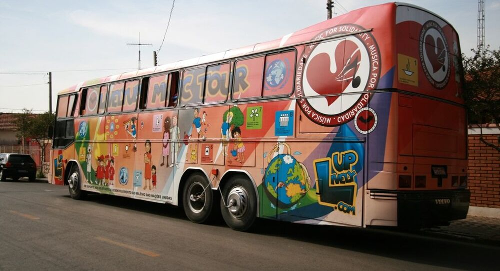 A bus in Brazil. File photo