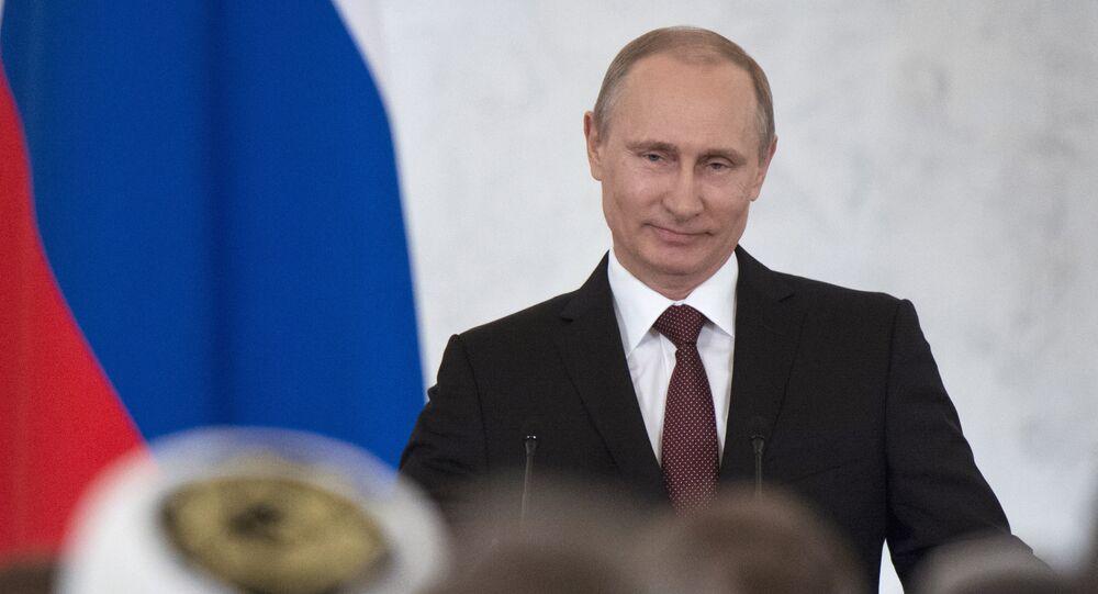 Vladimir Putin's statement on Crimea's integration with Russia