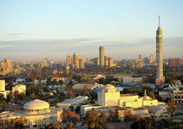 A morning view of Cairo, Egypt