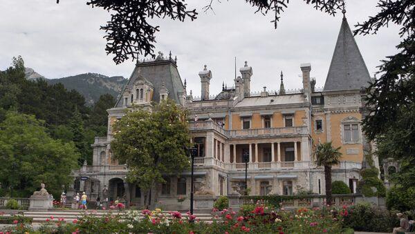 Massandra Palace in Crimea - Sputnik International