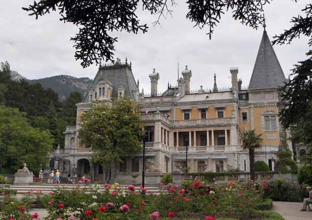 Massandra Palace in Crimea