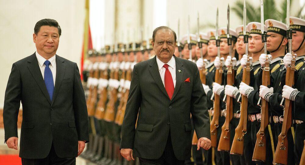 Pakistan President Mamnoon Hussain