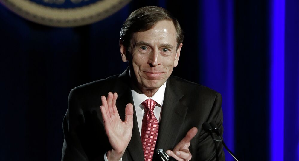 The White House has been consulting with retired Gen. David Petraeus about the Islamic State, despite his legal troubles over mishandled classified information and allegations that he's received special treatment from top Washington officials.