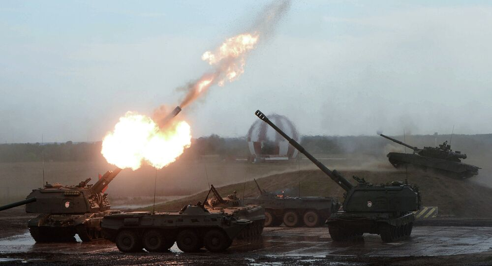 Approximately 1,500 tank personnel from Russia's Western Military District have begun tactical exercises