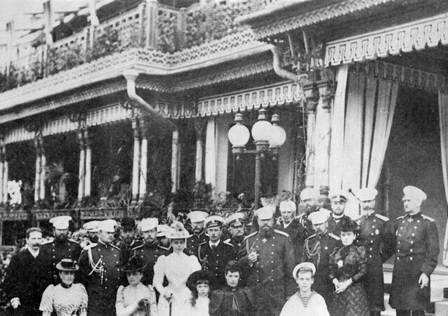 Members of imperial family Romanov