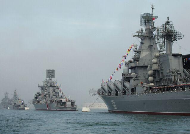 Celebration of 230th anniversary of Russian Black Sea Fleet