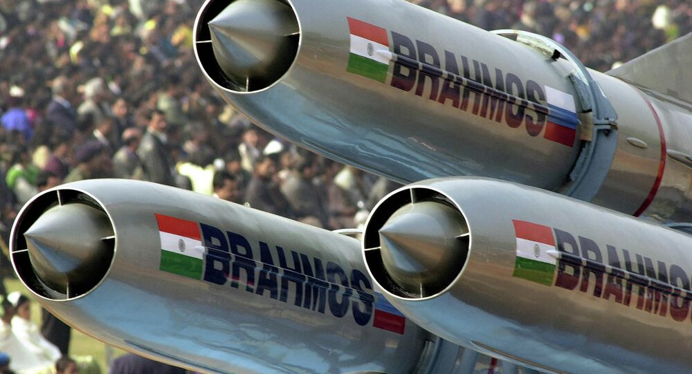 India's supersonic Brahmos cruise missiles