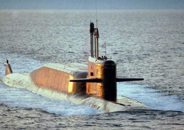 Delta IV class nuclear-powered ballistic missile submarine