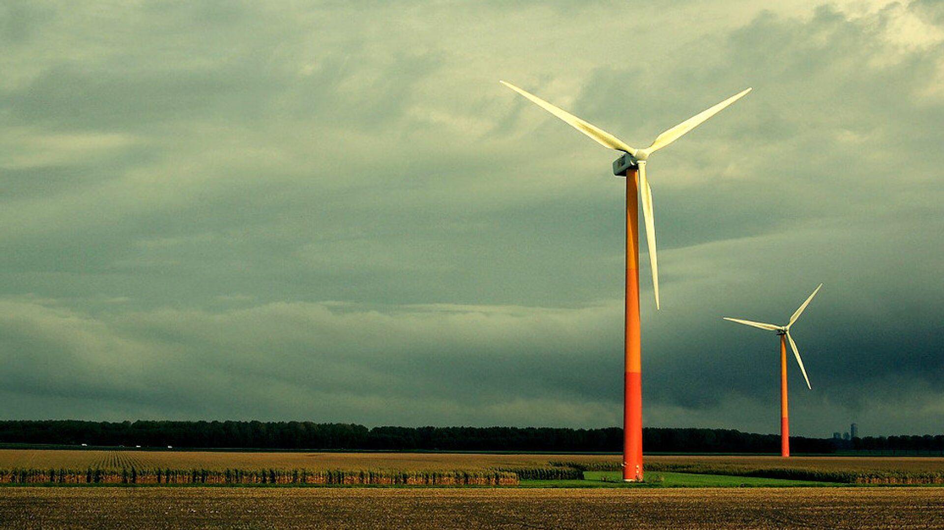 A wind turbine - Sputnik International, 1920, 08.09.2021