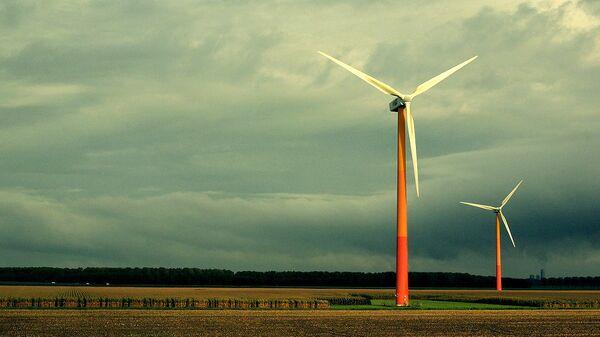 A wind turbine - Sputnik International