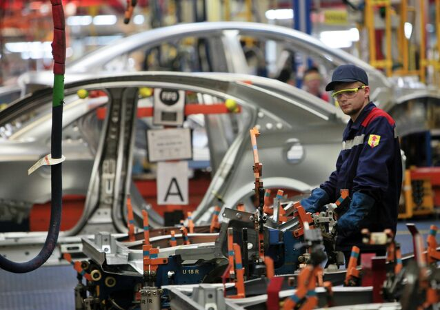 Opel Astra small cars now produced at the General Motors plant