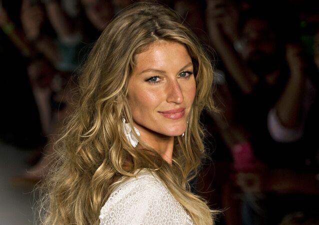 Brazilian supermodel Gisele Bundchen