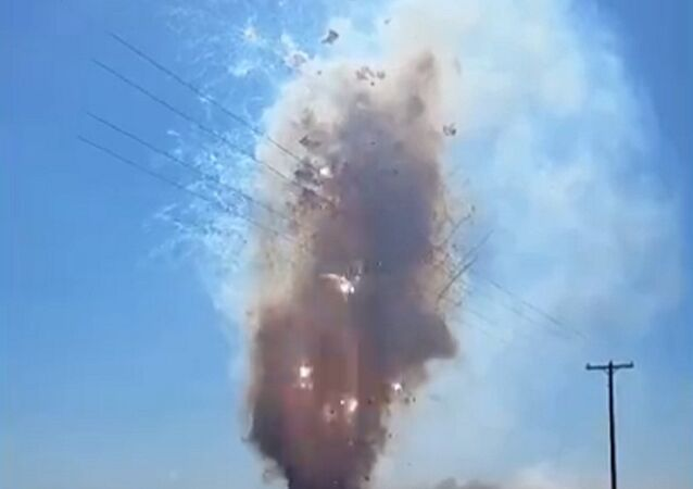 Cops Detonate Nine Tonne of Fireworks
