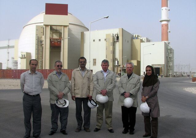 IAEA's Integrated Regulatory Review Service (IRRS) mission members visited Iran's first nuclear power plant in Bushehr