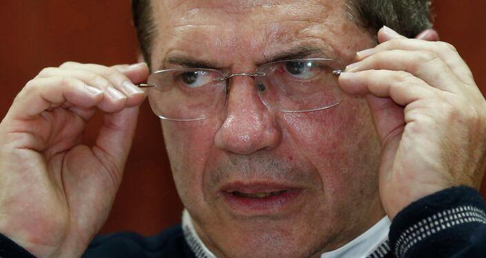 Ecuador's Foreign Minister Ricardo Patiño
