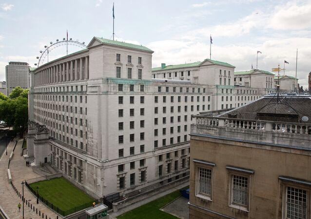 The MoD Main Building, Whitehall, London