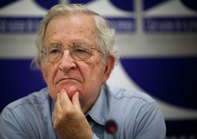 American economic prosperity is inextricably linked to its history of slavery and racial oppression, and fears that black people will take revenge are 'deeply rooted in American culture,' says academic, author and dissident Noam Chomsky in a recent interview with the New York Times.