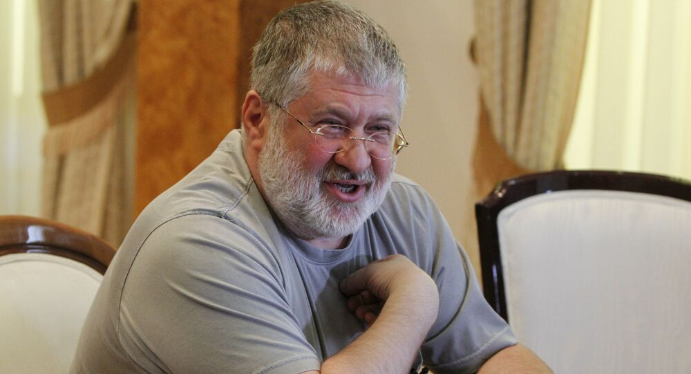 Igor Kolomoisky, billionaire and governor of the Dnipropetrovsk region, speaks during an interview in Dnipropetrovsk May 24, 2014 file photo