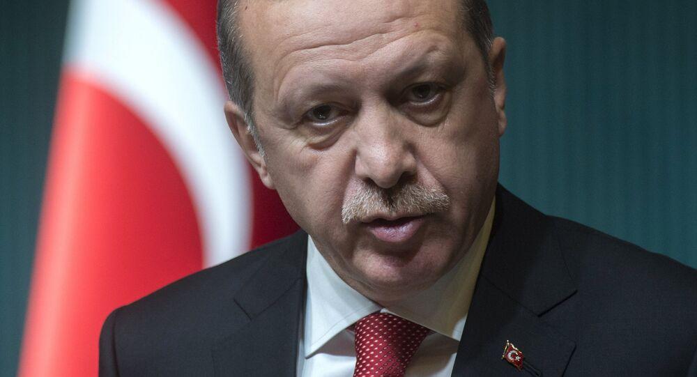 President of Turkey Recep Tayyip Erdogan