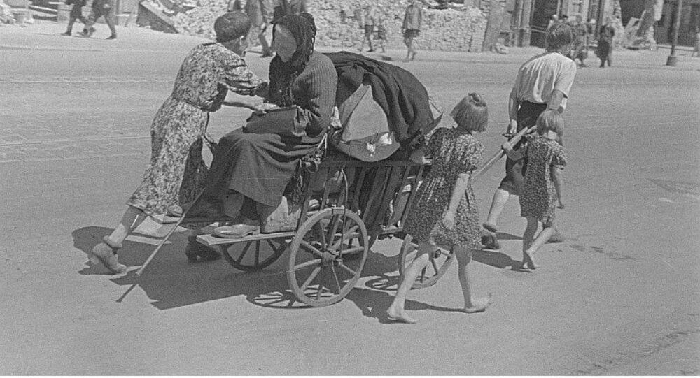 German refugees 1945