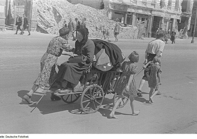German refugees 1945