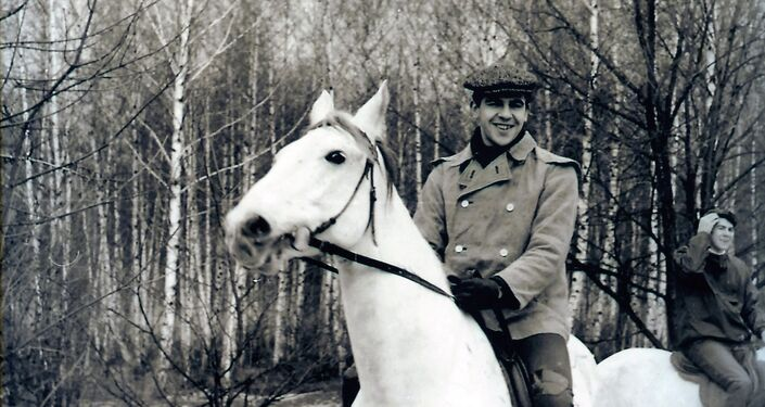 Sergei Lavrov during a vacation. Photo from the photographer's archive.