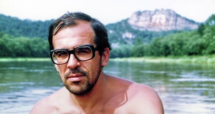Sergei Lavrov during a vacation.
