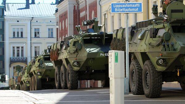 Tanks in Kluuvi, Helsinki, Uusimaa, Finnland - Sputnik International