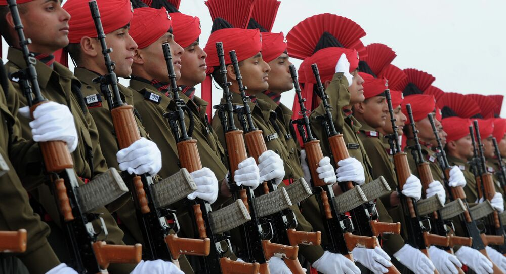 Indian military recruits