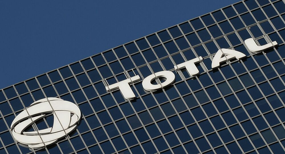 Main office of French energy company Total