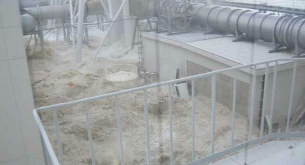 Fukushima Nuclear Power Plant Flooded During 2011 Tsunami