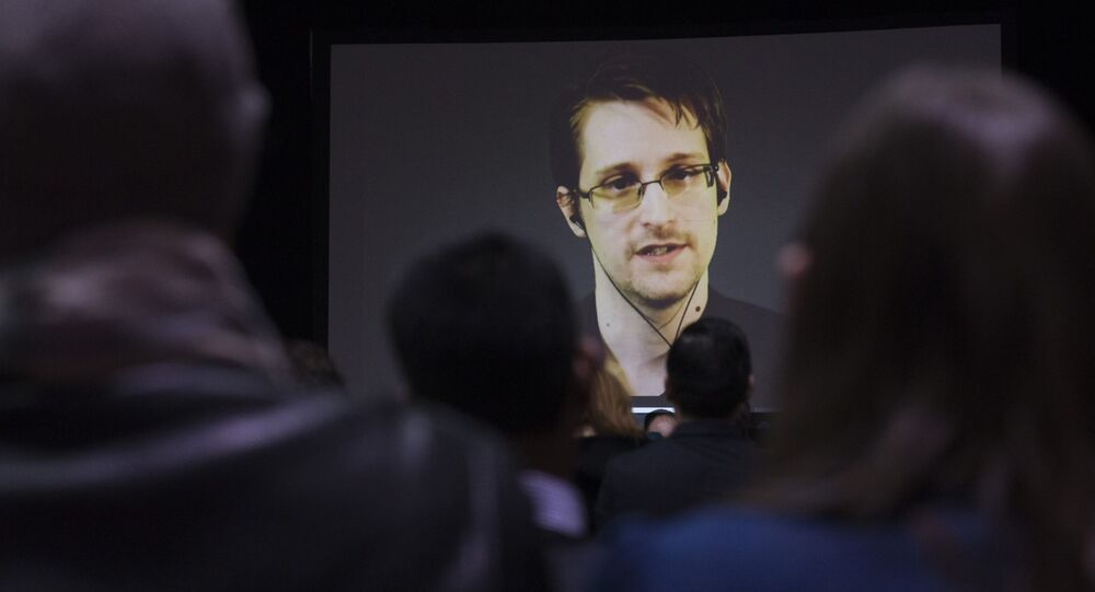 Edward Snowden said that the US government operates outside the law and is completely unrestrained in its monitoring activities on all Americans.