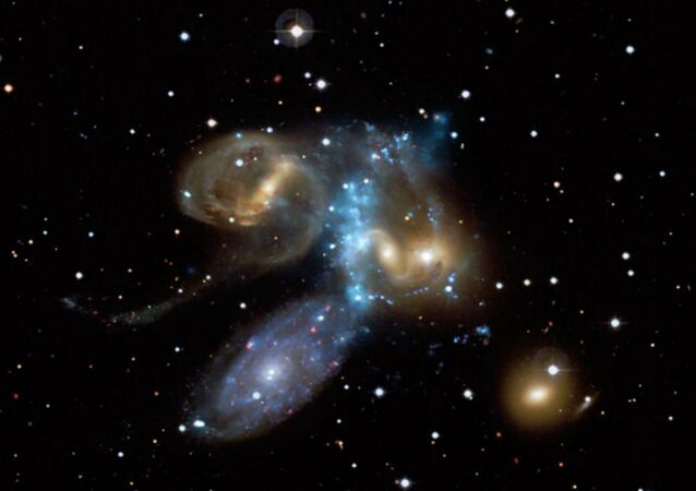 """""""When they are accumulating new material stars could generate sound in a very similar manner to that which we observed in the laboratory – so the stars might be singing,"""" said John Pasley."""