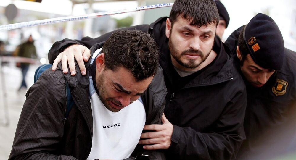Family members of passengers feared killed in Germanwings plane crash