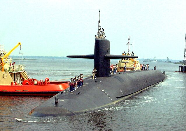 The USS Louisiana, the last of the 18 Trident submarines, arrives at its homeport, the Naval Submarine Base in Kings Bay. (File)