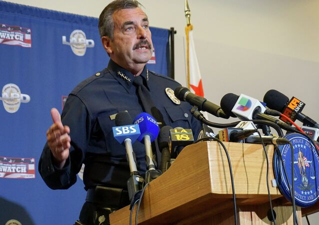 LAPD Chief Charlie Beck believes that the officers, because of their numerous tactical errors, should be kept on the desk.