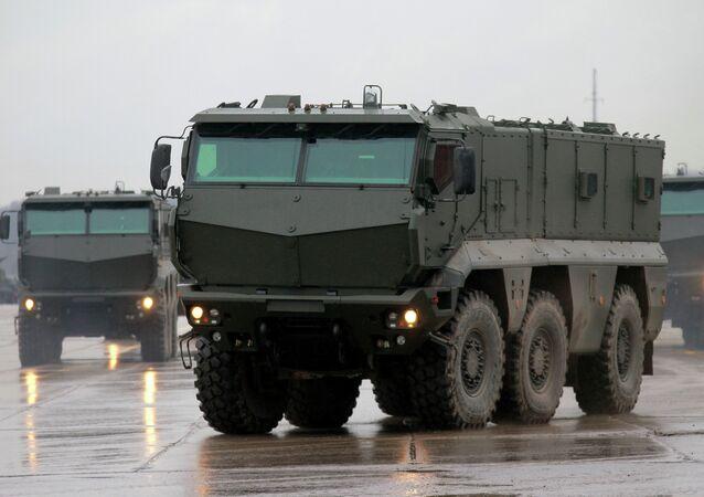 Taifun mine resistant ambush protected vehicles