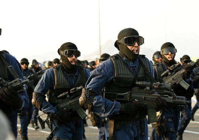 Saudi military parade.