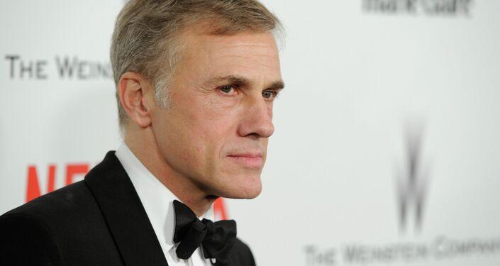Academy Award winner Christoph Waltz handled the presentation of Weinstein's award.